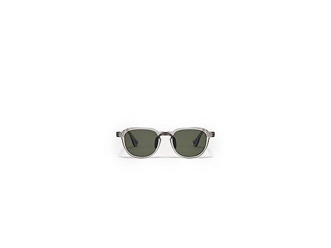 Cyklistické elegantní sluneční brýle CDC X AO průhledně šedá