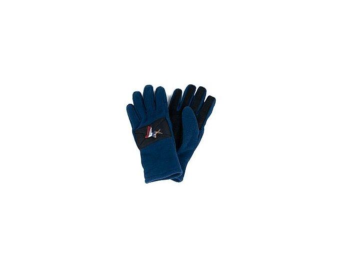 Podzimní / jarní rukavice na kolo CYCLING GLOVES GRAVEL námořní modrá