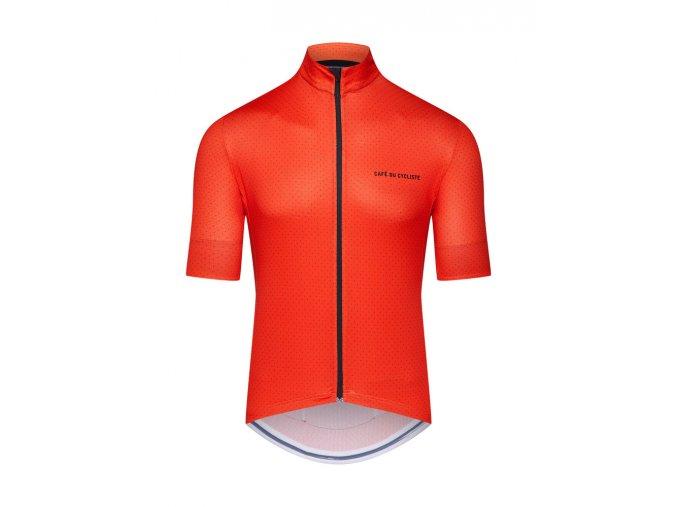 Cyklodres FLEURETTE - oranžová