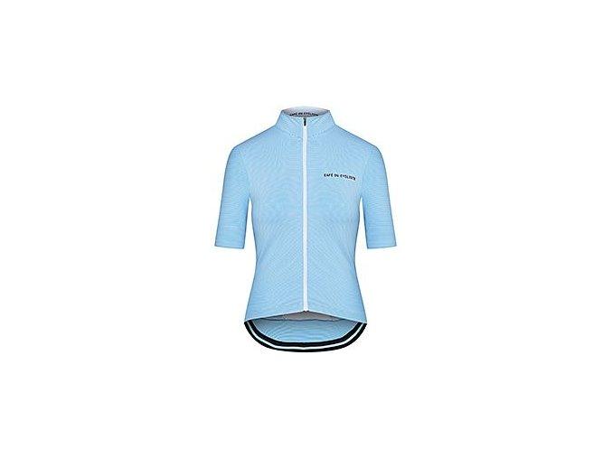 Dámský cyklodres - FRANCINE světle modrá