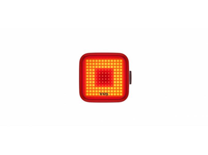 Blikačka na kolo KNOG Square - zadní - 12288