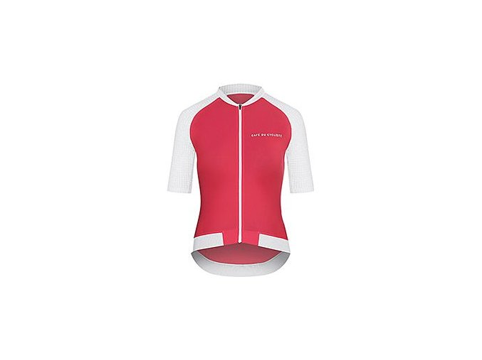 Dámský dres na kolo DALIDA - Bois de Rose červená
