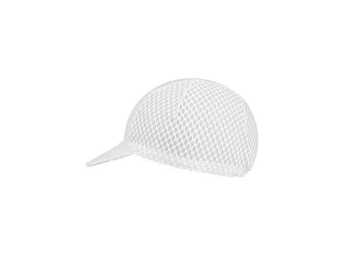 Ultraprodyšná cyklistická čepice - série CLASSIC - bílá