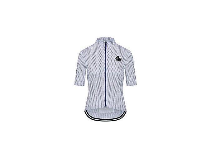 Dámský dres na kolo ATELIER AGNES - světle modrá