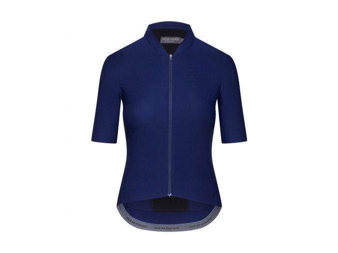 Dámský dres na kolo závodní CHRISTINE - námořní modrá