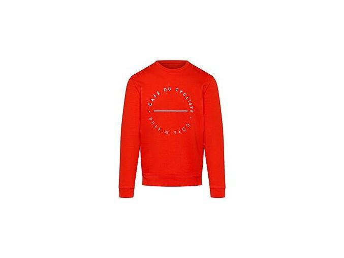 Mikina z bavlny CLEMENTINE mandarinkamen sweatshirt clementine orange[1]