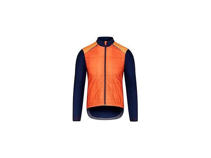 Podzimní / jarní cyklobunda LEONIE oranžovámen cycling jacket leonie orange 7[1]