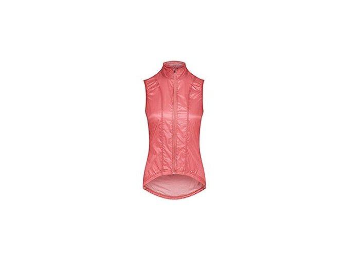 Dámská cyklo vesta PETRA - růžováwomen cycling gilet petra dusty pink[1]
