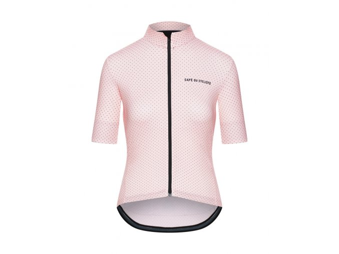 Dámský dres na kolo FLEURETTE - růžová