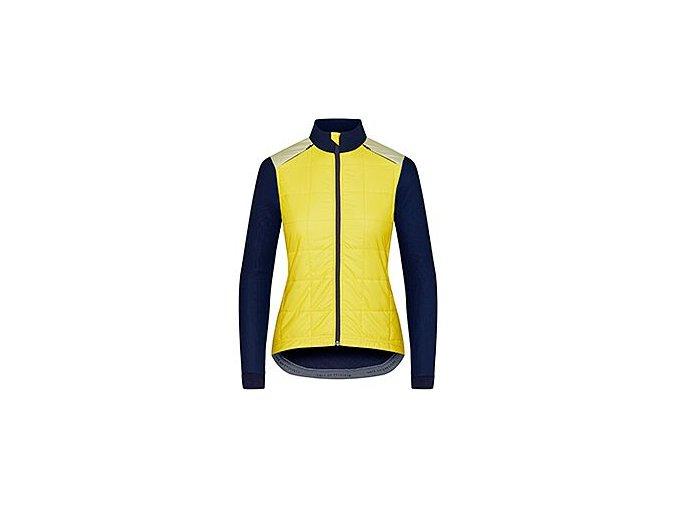 Dámská podzimní / jarní cyklobunda LEONIE žlutáwomen cycling jacket leonie yellow 6[1]