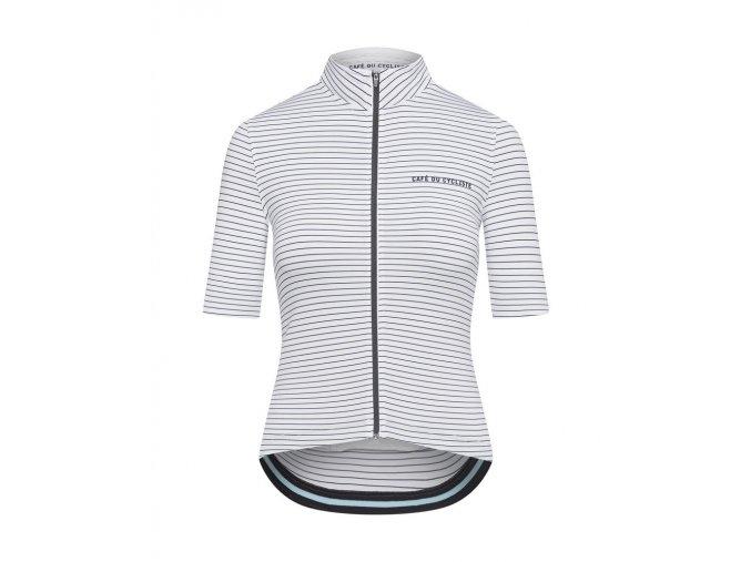Dámský dres na kolo FRANCINE - bílá