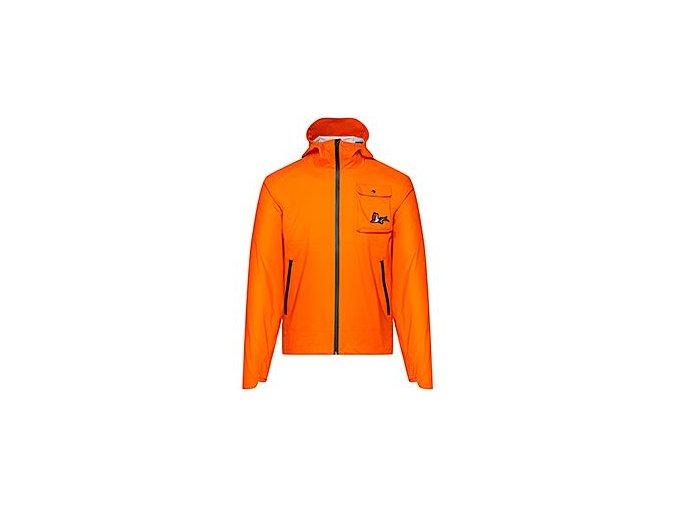 GRAVEL cyklobunda do deště - Pionnier ALIZÉE - oranžovámen cycling jacket alizee orange 01122020[1]