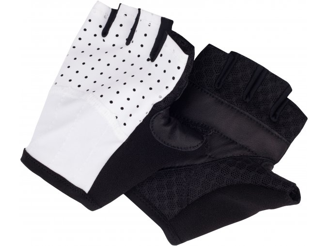 CAFÉ DU CYCLISTE - cyklistické rukavice - rukavice na kolo - bílá
