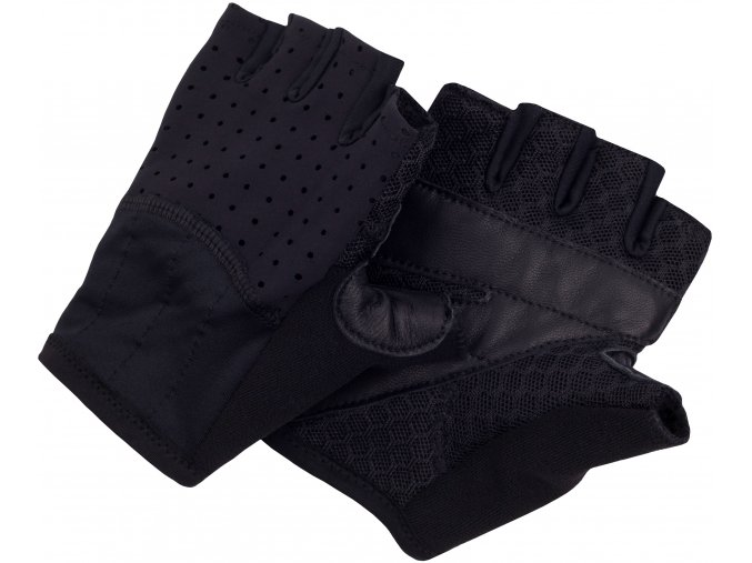 CAFÉ DU CYCLISTE - cyklistické rukavice - rukavice na kolo - černá
