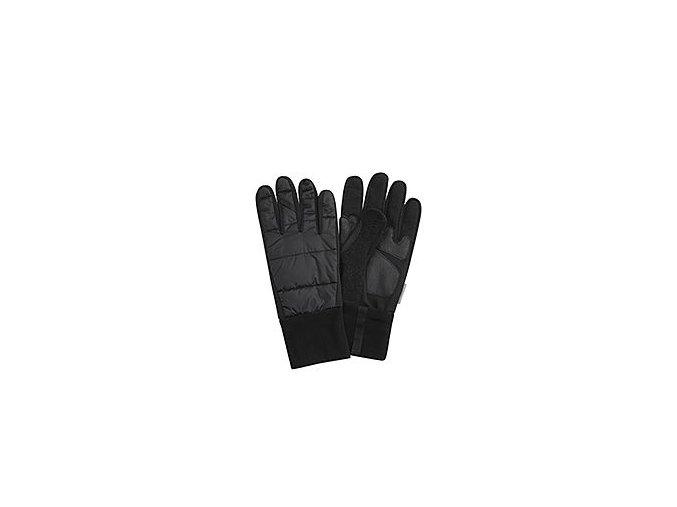 CAFÉ DU CYCLISTE - cyklistické rukavice - rukavice zimní na kolo CYCLING GLOVES černá