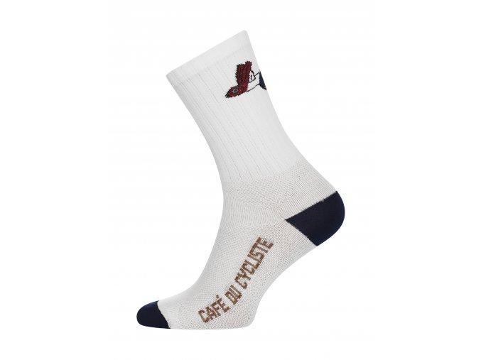 CAFÉ DU CYCLISTE - cyklistické ponožky - GRAVEL létající ryba