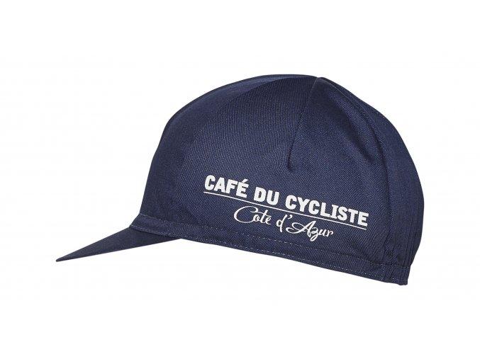 Café du Cycliste SS19 Accessories Cap Sardine Navy Packshot Side