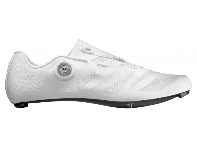 19 MAVIC silniční cyklistické tretry bílá - boty na kolo COSMIC SL ULTIMATE WHITE/WHITE/WHITE 406100