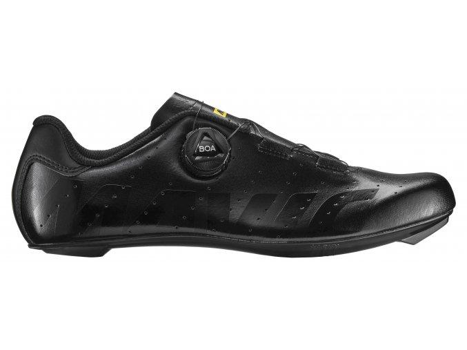 19 MAVIC silniční cyklistické tretry černá - boty na kolo COSMIC BOA BLACK/BLACK/BLACK 406966