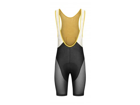 Café du Cycliste SS19 Men Bibshort Helene Black Sunflower Packshot front