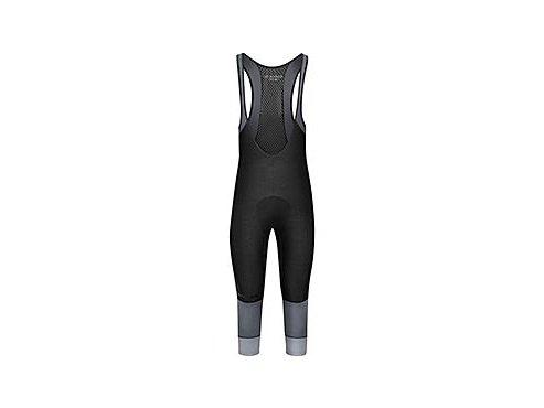 CAFÉ DU CYCLISTE - pánské cyklistické kalhoty - cyklo 3/4 kraťasy ADRIENNE černo-šedá