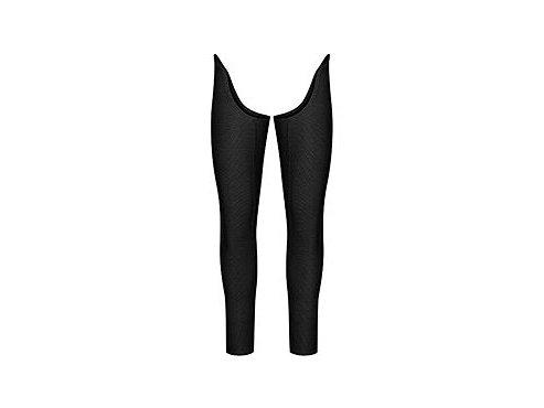 CAFÉ DU CYCLISTE - cyklistické návleky na nohy - cyklo návlek na nohy LILI Leg Warmers černá