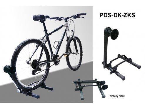 Držák na kolo - stojan na kolo za zadní kolo - skládací stojan PEDALSPORT (PDS-DK-ZK-SKL)