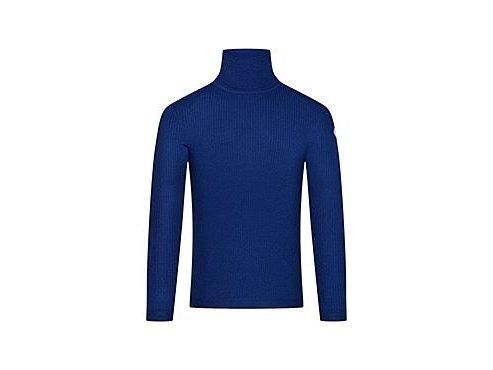 CAFÉ DU CYCLISTE - pánské cyklo oblečení - vlněný rolák na kolo - svetr Merino NICOLE modrá