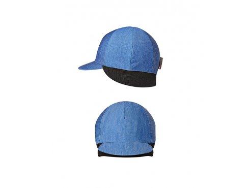CAFÉ DU CYCLISTE - cyklistické čepice - zimní kšiltovka na kolo BELGIAN CAP modrá