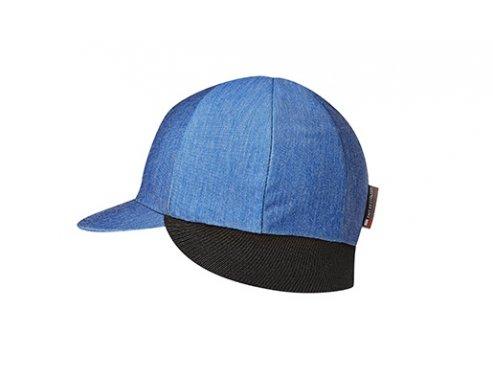 Zimní cyklistická čepice - BELGIAN CAP modrá