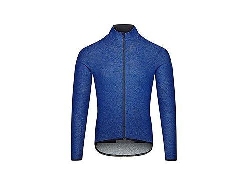 Cyklodres s dlouhým rukávem Merino MARGUERITE modrá Limoges