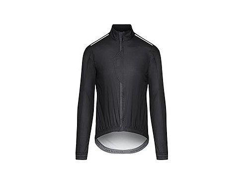 CAFÉ DU CYCLISTE - pánské cyklisktické bundy - ultralehká cyklo bunda do deště MAURICETTE černá