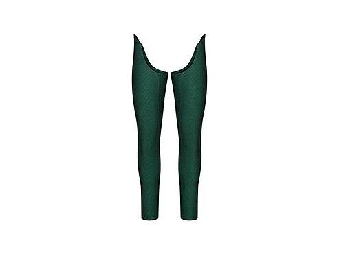 Cyklistické návleky na nohy LILI Leg Warmers Alpská zelená