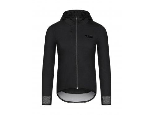 CAFÉ DU CYCLISTE - Zimní cyklistická bunda na kolo ZELIE černá, s velkým úložným prostorem
