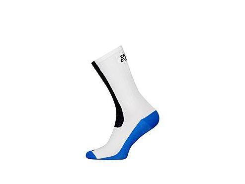 Cyklistické ponožky - COLOUR francouzská & námořní modrá