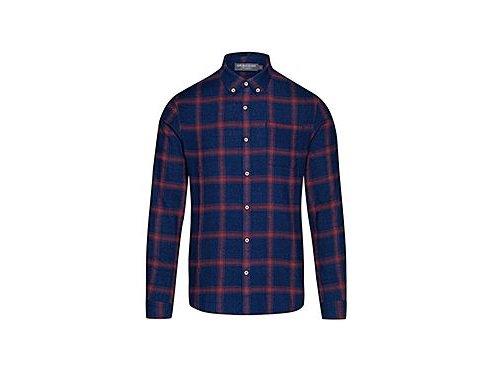 Bavlněná košile - AMANDA modro červená
