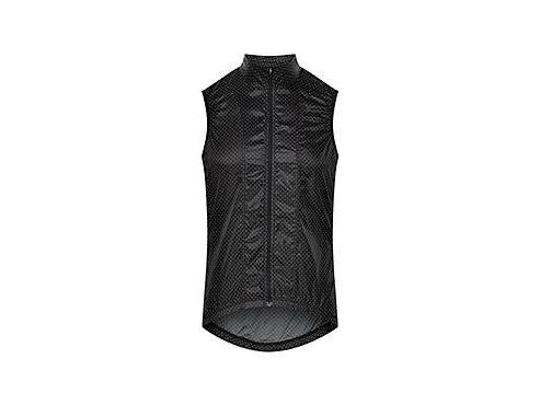 Cyklistická vesta - PETRA tečkovaná černá