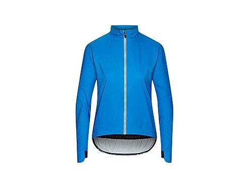 Dámská cyklo bunda do deště - SUZETTE modrá imperial