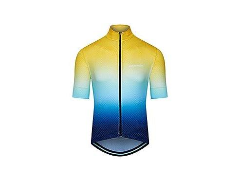 Cyklodres FLEURETTE - stínovaná žluto modrá