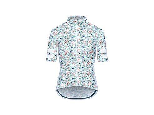 Dámský dres na kolo FLORIANE - Jasmin bílá