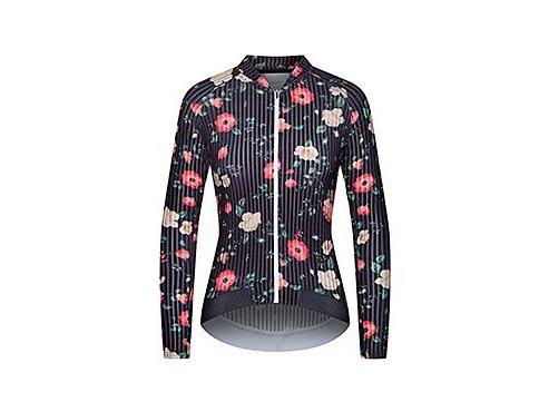 Dámský dres na kolo OLIVE ATELIER - Pivoine fialová