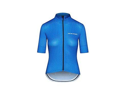 Dámský dres na kolo FLEURETTE - královská modrá