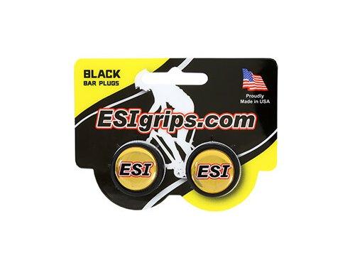 Záslepky Esigrips - koncovky řidítek - černá