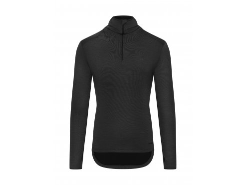 Café du Cycliste SS19 Arriere Pays Long Sleeve Berthe Black Packshot Front