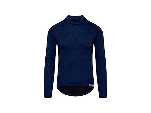 Funkční tričko s dlouhým rukávem Merino COSETTE námořní modrámen baselayer cosette navy[1]