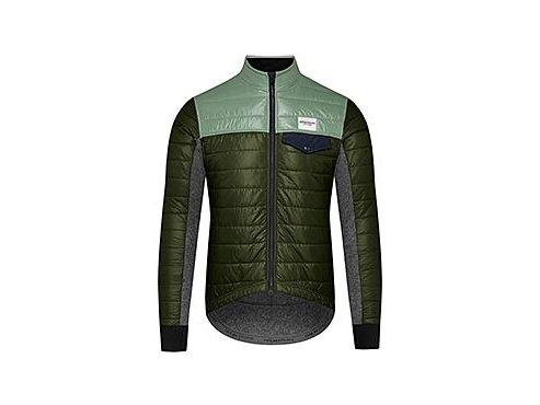 Zimní cyklo bunda ALBERTINE zelenáZimní cyklo bunda ALBERTINE zelenámen cycling jacket albertine green duotone[1]