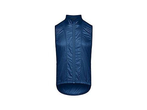 Cyklistická vesta PETRA - modrámen cycling gilet petra dusty blue[1]