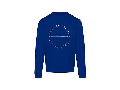 Mikina z bavlny CLEMENTINE světle modrámen sweatshirt clementine blue[1]