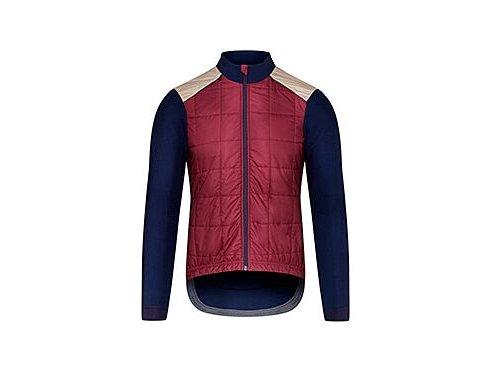 Podzimní / jarní cyklobunda LEONIE vínovámen cycling jacket leonie burgundy[1]