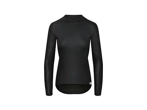 CAFÉ DU CYCLISTE - dámská cyklistická trika - triko pro ženy Merino COSETTE černá